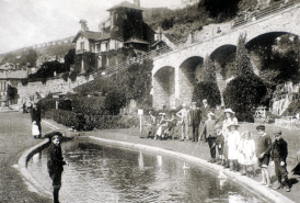 Old Ventnor cascade and pool
