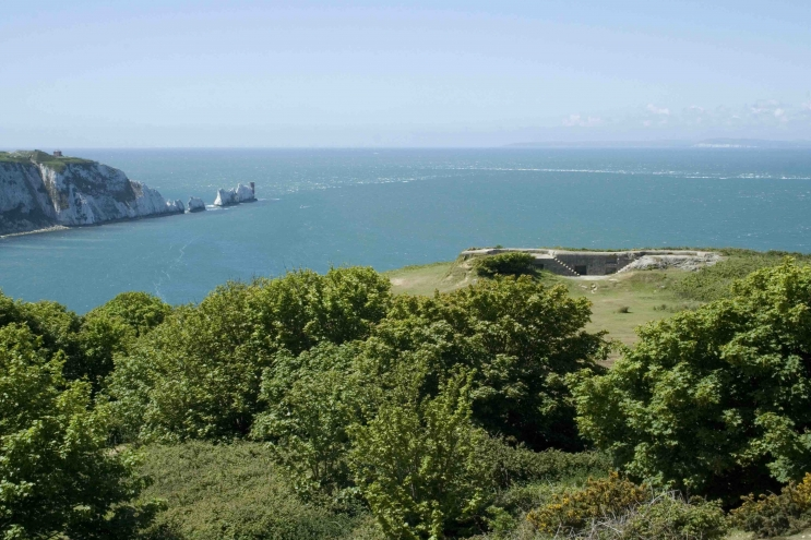 View from Headon Warren, Isle of Wight