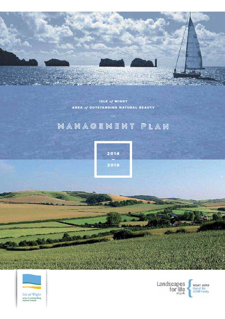Wight AONB Management Plan Front Page